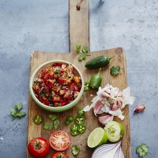 Tomato Onion Green Pepper Salsa Recipes