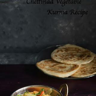 Chettinad Vegetable Kurma Recipe | Vegetable Korma South Indian Recipe