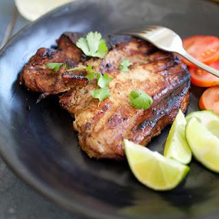 Thai BBQ Pork Chops