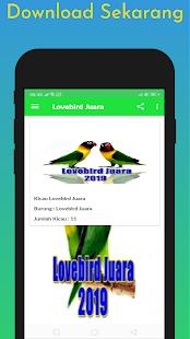 Download Lovebird Juara Offline 2019 For PC Windows and Mac apk screenshot 4