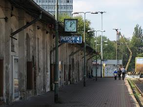 Photo: peron 4 na dworcu Łódź Fabryczna