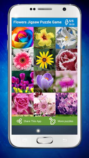 花ジグソーパズルゲーム