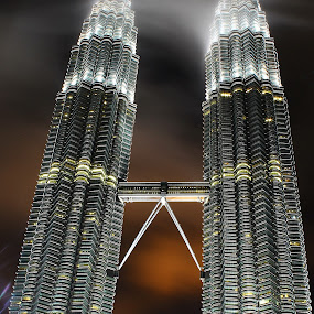 KLCC by Mohd Norsabree Sailan - Buildings & Architecture Architectural Detail ( klcc, twin towers, buildings, malaysia, mohd norsabree, kuala lumpur, landmark, travel )
