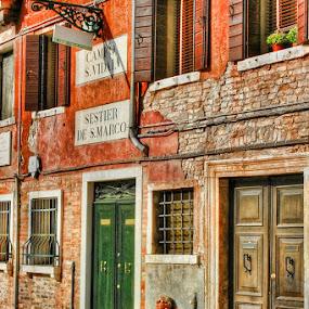 Bella Italia by Thilo Bayer - City,  Street & Park  Street Scenes ( venice )