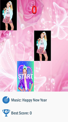 Jojo Siwa Piano Tiles game