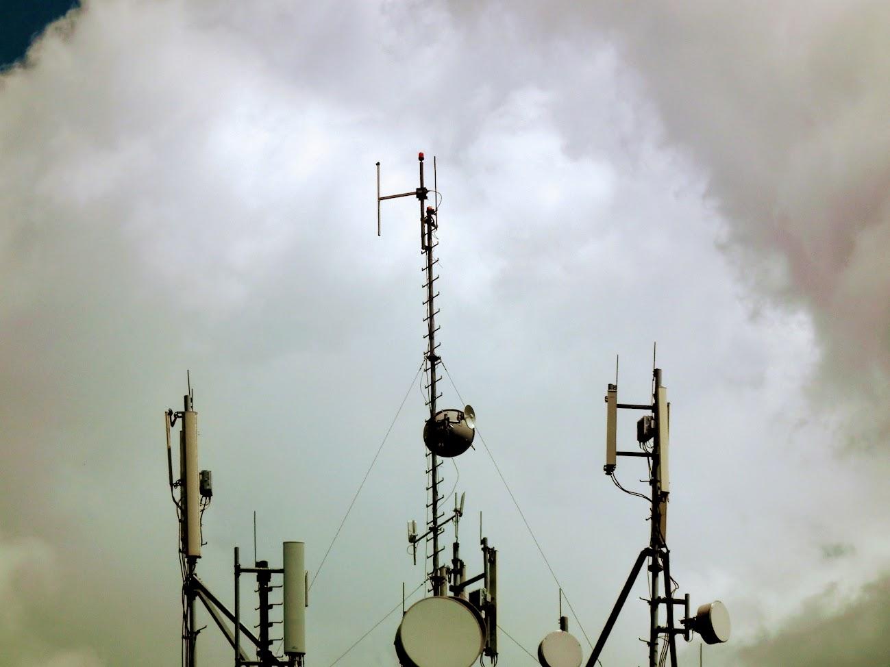Mohács/víztorony - helyi URH-FM adóállomás