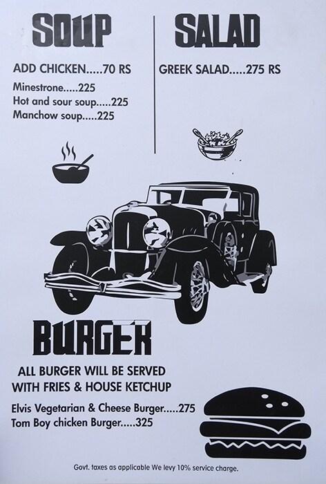 Mafioso menu 4