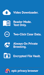 Epic Privacy Browser with AdBlock, Vault, Free VPN Apk Download For Android 3