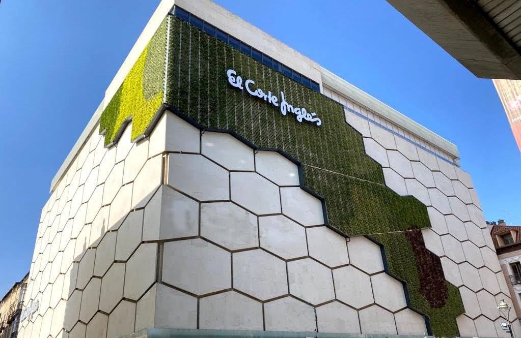 Sistema instalado en Valladolid una de las iniciativas del proyecto Europeo UrbanGreenUP