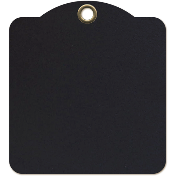 Square Tags—Black