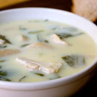 Greek Lemon Chicken Soup (Avgolemono)