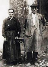 """Photo: Emilia y Fructuoso, abuelos y bisabuelos de la saga """"Casado"""""""