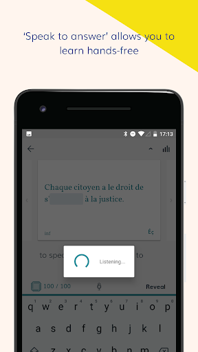 Lingvist: learn a language u2013 fast 2.22.7 screenshots 4