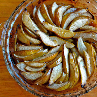 Roasted Maple Spiced Pears