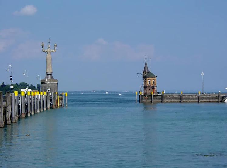 4. Thành phố Konstanz bên Biển Hồ - Bodensee của 3 nước Đức - Thụy Sĩ - Áo
