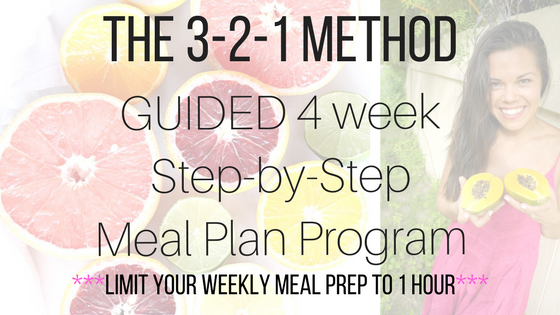 3-2-1 method guided