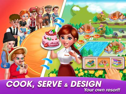 Cooking World: Cook,Serve & Design Your Resort! 8