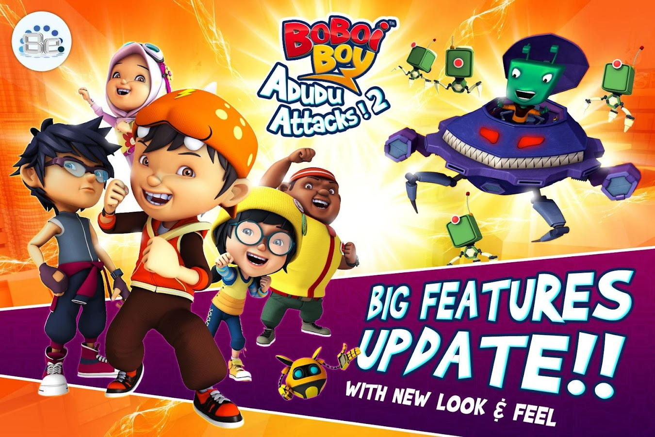 BoBoiBoy: Adudu Attacks! 2- screenshot