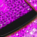 Purple Cheetah Keyboard mobile app icon
