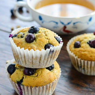 Blueberry Granola Breakfast Muffins