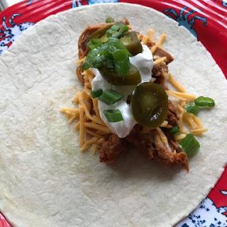 Cilantro Lime Pork Burrito.