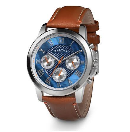 Dalvey Torque Wristwatch Blue MOP