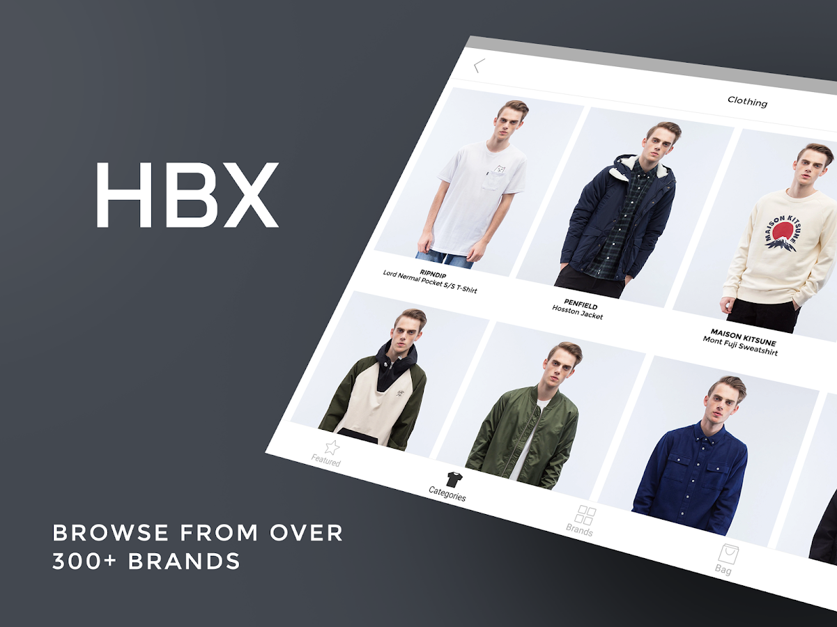 HBX - Shop Latest Fashion- screenshot