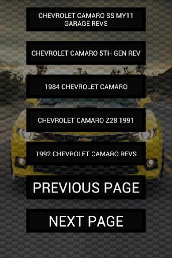 玩免費遊戲APP|下載Engine sounds of Camaro app不用錢|硬是要APP