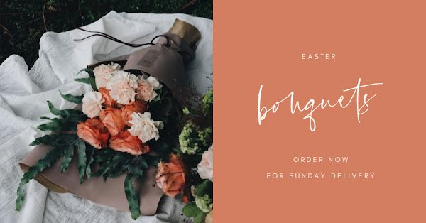 Easter Bouquets - Easter Template