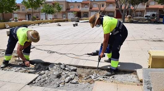 El parque Gloria Fuertes de Vícar ultima su remodelación