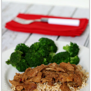 Slow Cooker Korean BBQ Sauce w/ Pork, Chicken or Beef.