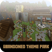 Map Abandoned Theme Park MCPE
