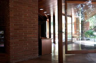 Photo: Living area doors pivoted. Photo: Judith Lautner