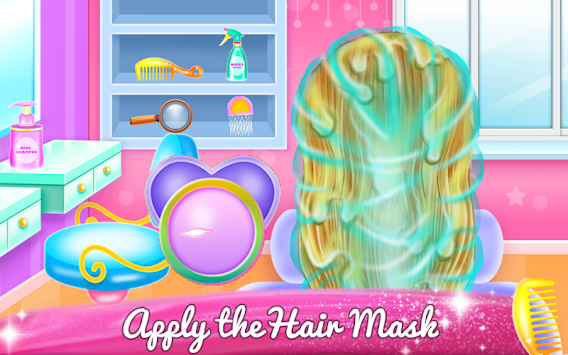 Little Bella Braided Hair Salon apk screenshot
