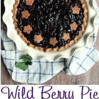 Service Berry - Saskatoon Berry - Pie