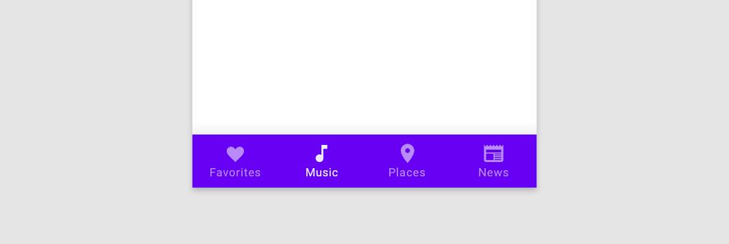 Bottom Navigation Bar Android