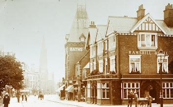 Photo: Ramshill pub and baths 1900