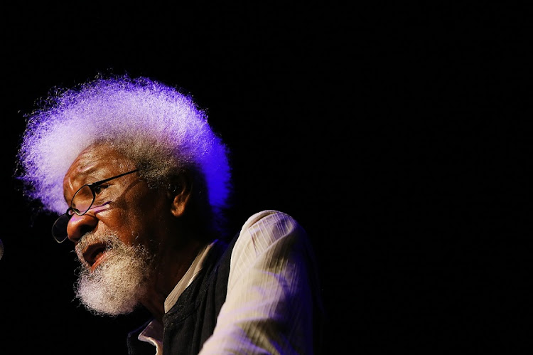 Internationally recognised Nigeria-born author and scholar, professor Wole Soyinka. Picture: ALON SKUY/THE TIMES