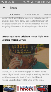 KGET News KernGoldenEmpire.com- screenshot thumbnail