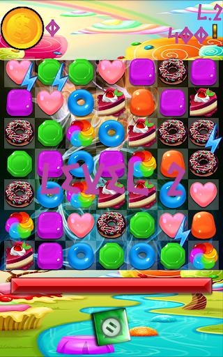 Sweet Candy Rivals Match-3