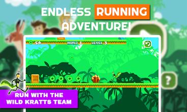 Wild Kratts Panther Power Run screenshot thumbnail