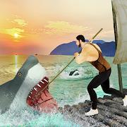 Raft Survival Hunter Escape