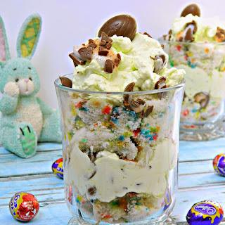 Easter Cream Confetti Trifle