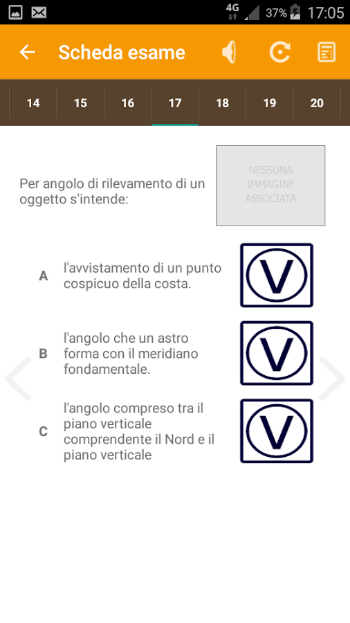 Galileo Quiz Patente Nautica- screenshot