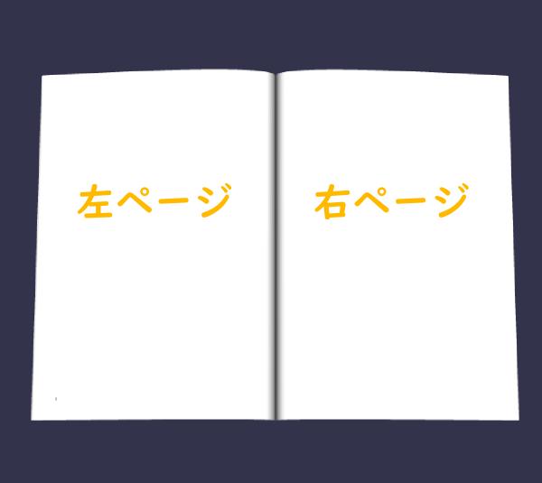 右ページ・左ページ