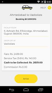 OneWay.Cab Partner screenshot 3