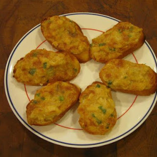 Deviled Crab (or Clams) Puffs