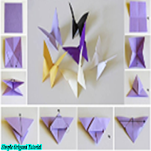 Simple Origami Tutorial - náhled