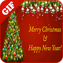 Christmas Tree GIF 2020 icon