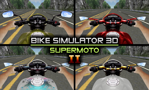 Télécharger Bike Simulator 2 Moto Race Game apk mod screenshots 2